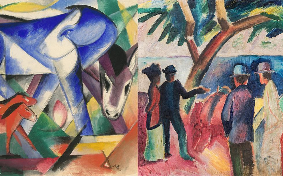 Franz Marc and August Macke: 1909–1914