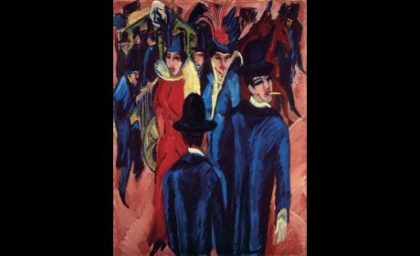 Berlin Street Scene, 1913-14